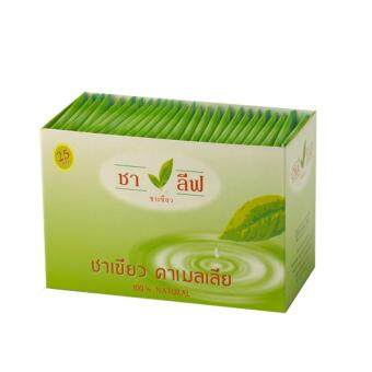 ชาเขียว ชาลีฟ ชนิดบรรจุ 25 ซอง