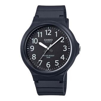 Casio Standard นาฬิกาข้อมือ สายเรซิน รุ่น MW-240-1B