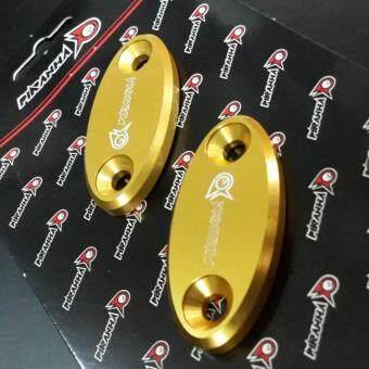 แผ่นอุดรูกระจก CBR300 /500 / 650 สีทอง