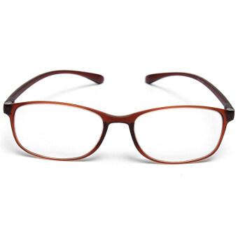 ไฮเกรดยางกรอบแว่นตาอ่านหนังสือสุดยอดยาก TR90+3.5 แว่นตาสำหรับบุรุษ (หลายสี) - intl