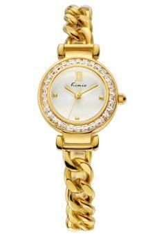 Kimio นาฬิกาข้อมือผู้หญิง สีทอง สายสแตนเลส รุ่น KW6030