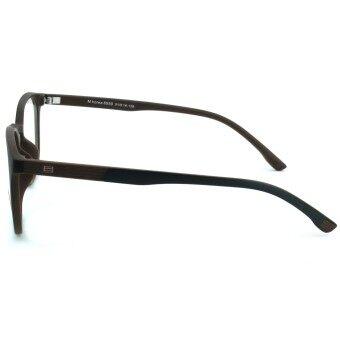 Fashion M Korea แว่นสายตา รุ่น 8550 สีดำตัดน้ำตาล แว่นตากรองแสงสีฟ้า ถนอมสายตา (กรองแสงคอม กรองแสงมือถือ) (image 1)