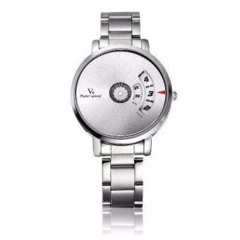 ideecraft นาฬิกาแฟชั่น สำหรับผู้หญิง สวย เท่ห์ มี design เก๋ ไม่เหมือนใคร เป็นของขวัญ ของฝาก หน้าปัดสีเงิน