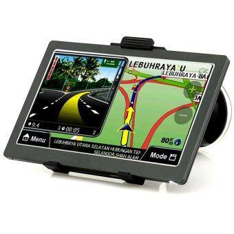 I-SMART GPS นำทางระบบ ภาษาไทย Modern Map Thai navigation รุ่น WP70T (black)
