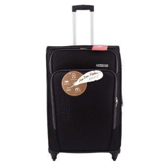 AMERICAN TOURISTER กระเป๋าเดินทาง รุ่น FEATHERLITE II ขนาด 28 นิ้ว EXP (สี BLACK)