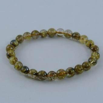 Pearl Jewelry กำไลไหมทอง AB1