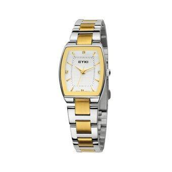 Kimio นาฬิกาข้อมือผู้หญิง สีทอง สายสแตนเลส รุ่น KW6029