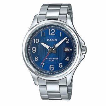 CASIO STANDARD นาฬิกาข้อมือผู้ชาย รุ่น MTP-E126D-2AVDF- สีน้ำเงิน