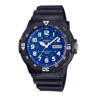 Casio Standard นาฬิกาข้อมือผู้ชาย สายเรซิ่น รุ่น MRW-200H-2B2