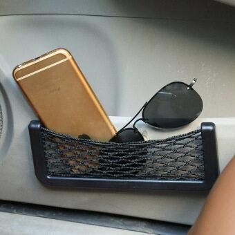 รถยนต์นั่งรถอเนกประสงค์เก็บกระเป๋าถือสวิงตาข่ายเชือกกระเป๋าโทรศัพท์