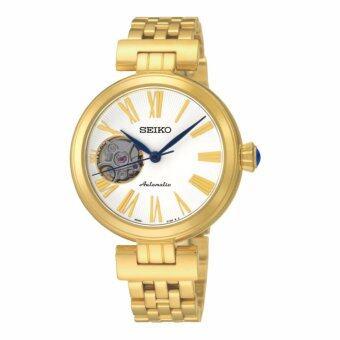 นาฬิกาข้อมือผู้หญิง Seiko Automatic SSA086K1 สีทอง