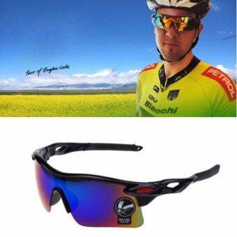 แว่นตากันแดดสำหรับปั่นจักรยาน สีดำ(Black Black)
