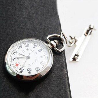 โอ๊ยนาฬิกากระเป๋าใบใหญ่ใส่พยาบาลที่ติดแถบหลังติดเข็มกลัดเงิน