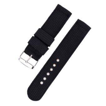 ขายนาฬิกาแฟชั่นร้อนสายรัดข้อมือสำหรับนายพลมองดำ 24มม