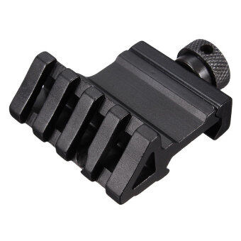 HKS Tactical 45 Degree Angle Offset 20mm Weaver Rail Mount Picatinny Quick Release - intl