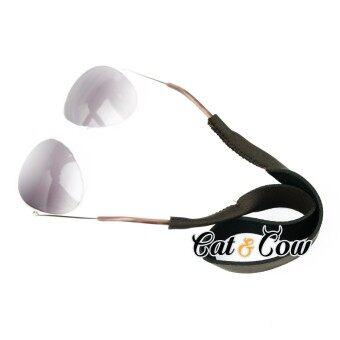 Cat & Cow รุ่น LC11-BR, #สายคล้องแว่นตา Eyewear Retainer สีนำตาล