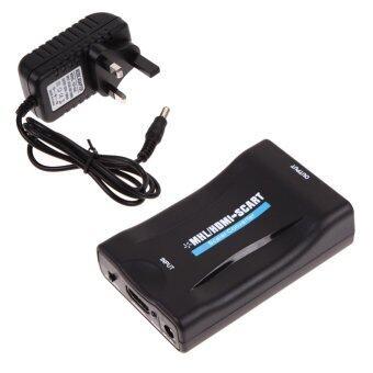 MHL/HDMI to SCART Video Converter Scaler for Smartphone Samsung LG to CRT T - intl ราคาถูกที่สุด ส่งฟรีทั่วประเทศ