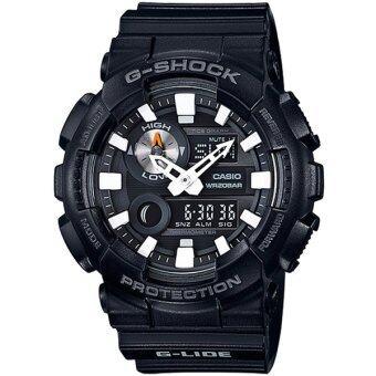 Casio G-Shock นาฬิกาข้อมือผู้ชาย สายเรซิ่น รุ่น GAX-100B-1A - สีดำ