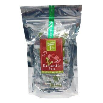 Harga DAZZLING-T ชาเขียว กุหลาบ (Special Blend Green Tea and Rose Petal)T-bags12 x1.5 g.
