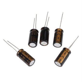 5pcs 35V 470uF Electrolytic Capacitor 10 x 17mm