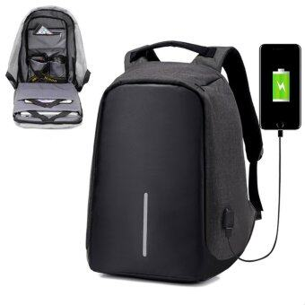 Marverlous Anti-Theft กระเป๋าเป้นิรภัยแล็ปท็อป Backpack - สีดำ