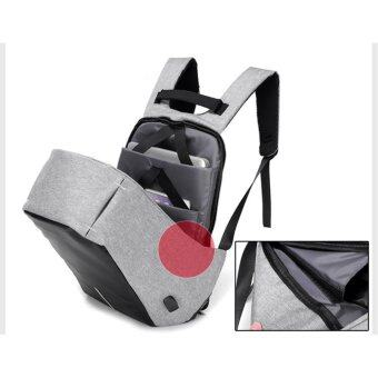 Marverlous Anti-Theft กระเป๋าเป้นิรภัยแล็ปท็อป Backpack - สีดำ (image 3)