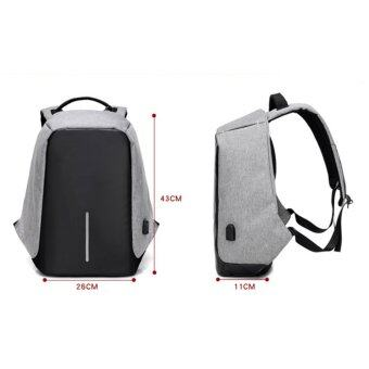 Marverlous Anti-Theft กระเป๋าเป้นิรภัยแล็ปท็อป Backpack - สีดำ (image 1)