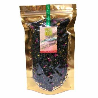Dazzling-T ORGANIC Green Tea ชาสมุนไพรใบหม่อน ผสมดอกกุหลาบ ดอกมะลิ (Mulberry Tea with Rose & Jasmine) 60g.