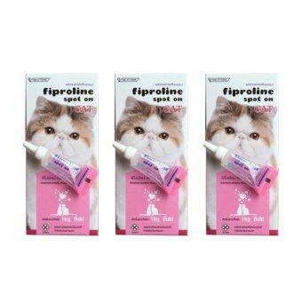 fiproline for cat ยาหยอดกำจัดเห็บ หมัด สำหรับแมว จำนวน 1 หลอด ( 3 units )