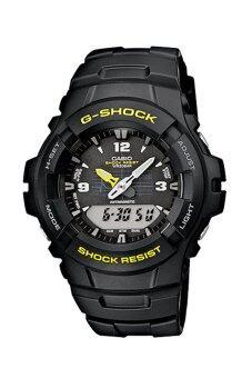Casio G-shock นาฬิกาข้อมือผู้ชาย สายเรซิ่น รุ่น G-100-9C - Black