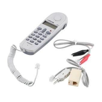 โทรศัพท์โทรศัพท์เครื่องมือทดสอบแบบทดสอบท้ายเซ็ตตัวชูโรงผู้ร่วมสาย