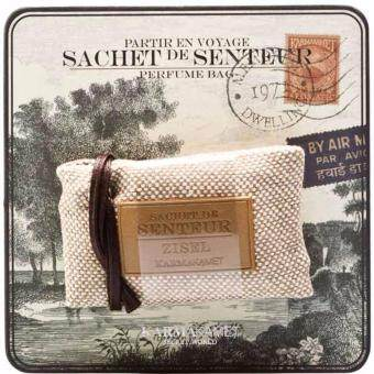 Aromatic Perfume Bag ถุงหอมกลิ่นLin ( ชาขาว + White musk)ขนาด 20 กรัม