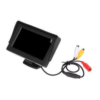 4.3 TFT LCD Car Monitor Reverse Rearview Color Camera DVD VCR CCTV Backlight ราคาถูกที่สุด ส่งฟรีทั่วประเทศ
