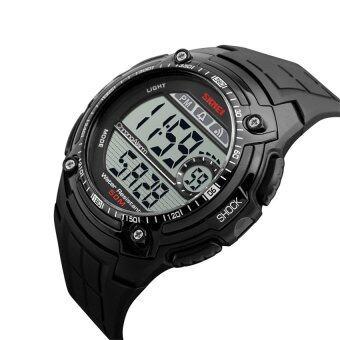 2559 คุณภาพสูง SKMEI 1203คนกีฬาแฟชั่นนาฬิกากันน้ำ (สีดำ)