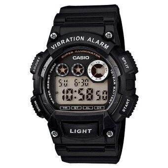 Casio Standard นาฬิกาข้อมือ รุ่น W-735H-1AVDF (Black)