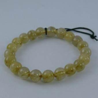 Pearl Jewelry กำไลหินไหมทอง X3