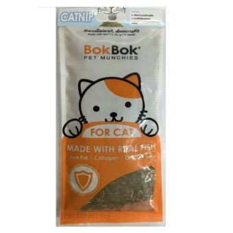 bok bok Catnip หญ้าแมว 35g ( 3 ซอง )