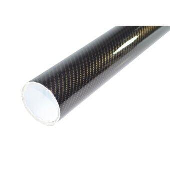 Alicar สติ๊กเกอร์เคฟล่า 2D - สีดำทอง (40x152cm)