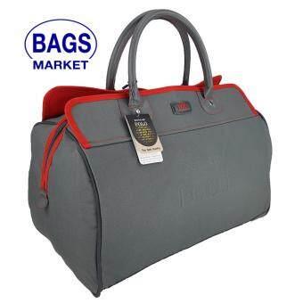Romar Polo กระเป๋าเดินทางแบบถือ/เบ็ดเตล็ด ขนาด 18 นิ้ว B-Lined Code 21101-4 Red (Grey)