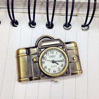 เพศบรอนซ์โบราณจี้สร้อยคอกระเป๋ากล้องออกแบบนาฬิกาของขวัญบรอนซ์