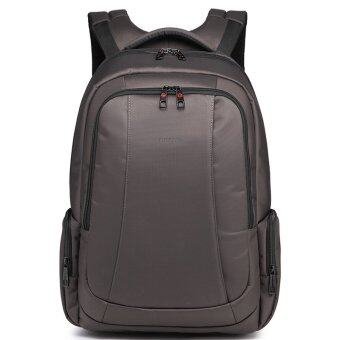 Tigernu Brand Nylon Waterproof Men Women Travel Backpack for 12.1-15.6 Inch LaptopT-B3143(Coffee) - INTL