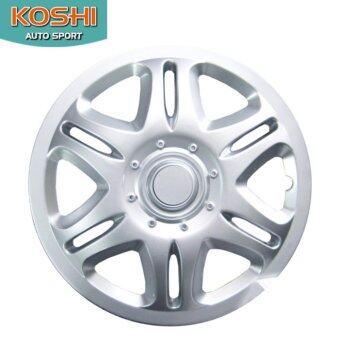 Koshi wheel cover ฝาครอบกระทะล้อ 14 นิ้ว ลาย 5042 (4ฝา/ชุด)