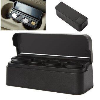 รถพลาสติกกระเป๋าพลาสติกม้วนเหรียญเหรียญอัตโนมัติออแกไนเซอร์กล่องเก็บใส่กระเป๋า