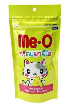 Me-O ทรีตแมวมีโอ รสแซลมอน 50g.x3 ถุง