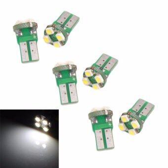 LED ไฟหรี่ T10 4LED 1210 SMD 3 คู่ ( สีขาว )