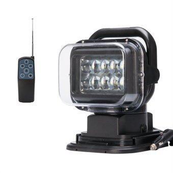 GoLight SuperBright Searchlight ไฟสปอตไลท์ ไฟกู้ภัย ไฟท่องป่า ไฟตกปลา ไฟLED 50W พร้อมฐานแม่เหล็ก และรีโมทปรับทิศทาง