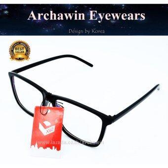 แว่นตากรองแสง กรอบแว่นสายตา ทรงสี่เหลี่ยม พร้อมเลนส์กรองแสงสีฟ้า (กรองแสงคอม กรองแสงมือถือ ถนอมสายตา) รุ่น S959P