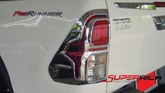 SA ครอบไฟท้ายโครเมี่ยม (Tail Lamp Cover) / Toyota Revo (V.2)