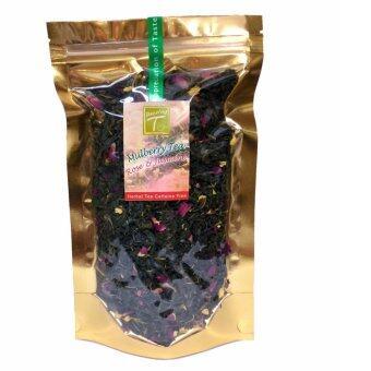 DAZZLING-T ชาสมุนไพรใบหม่อน ผสมดอกกุหลาบ ดอกมะลิ(Mulberry Herbal Tea with Rose & Jasmine) 60 กรัม