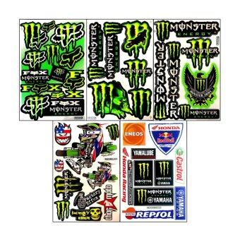 Monster Energy Stickers Die Cut Car Bike Helmet Truck ATV Racing Moto Graphic Kits Decals Vinyl Decal สติ๊กเกอร์ ติดรถ แต่งรถ รถยนต์ รถเก๋ง มอเตอร์ไซค์ ซิ่ง
